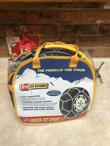 Les Schwab Quick Fit Sport Lt Tire Snow Chains Size 2317 s 215 85r16lt