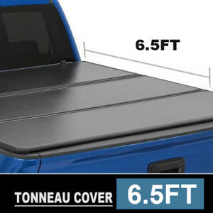 Fits 2007 2018 Chevy Silverado Lock Hard Solid Tri Fold Tonneau Cover 5 8ft Bed