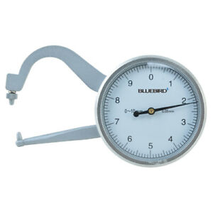 Bluetec Bd p10 Dial Caliper Gauge Range 0 10mm Min 0 05mm For Pipe Thickness