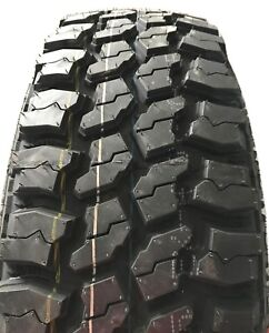 2 New Tires 33 12 50 20 Mud Claw Extreme Mt 10 Ply 19 32 Tread Lt33x12 50r20