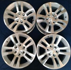Chevy Silverado Tahoe Suburban 18 Factory Original Oem Alloy Wheels Rims 5646