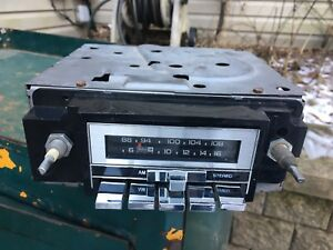 Vtg Indash Radio Dash 1970s Delco 1970s 1980s Am Fm Chevy Firebird Corvette