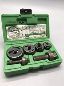 Greenlee Slug Buster Model 7235bb Knockout Punch Kit 1 2 1 1 4