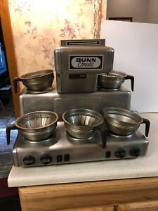 Bunn o matic Rl35 Automatic Coffee Brewer 5 Warmers Commercial Restaurant