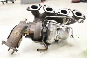 Jdm Nissan Silvia S14 Oem T28 Turbo Charger With Manifold A R60 M24 Sr20det