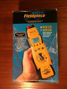 New Fieldpiece Expandable Autoranging True Hs36 Rms Stick Multimeter Backlight