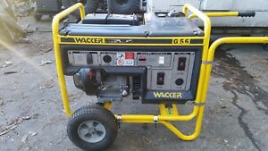 Wacker G5 6 Generator Honda Engine Very Good Condition