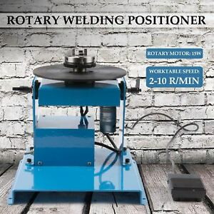 110v 50hz 2 10 R min Lightweight Rotary Welding Positioner Turntable Table