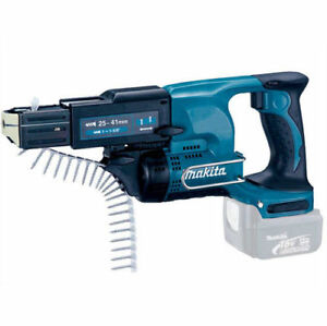 Makita Dfr450z Lxt Li ion 18v Cordless Auto feed Collated Screw Gun Body Only