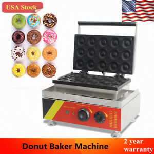 Commercial Doughnut Maker Automatic Donut Maker Baker Making Machine Nonstick Us