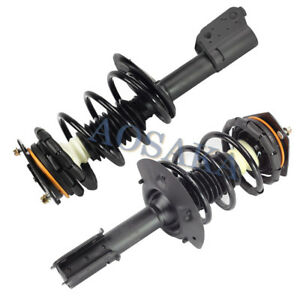 2x Complete Strut Coil Assembly Front For Chevrolet Impala Chevrolet Monte Carlo