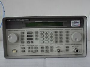 Hp 8648b Synthesized Rf Signal Generator 9 Khz 2000 Mhz opt 1e2 1e5 1e6 1ea