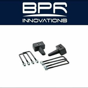 Pro Comp Suspension Fits 02 08 Ram 1500 2 Rear Lift Block W U Bolt Kit 61252