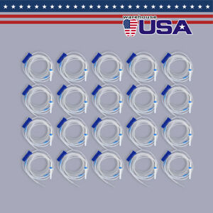 Usa 20x Dental Implant Irrigation Tube Disposable For W Surgical Motor Handpiece