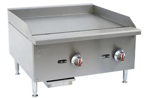 Commercial Kitchen Countertop Gas Griddle 24 60 000 Btu 3 4 Plate