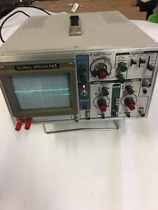 Global Specialties Oscilloscope Tested