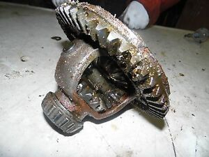 International Cub Low Boy 154 Tractor Differential
