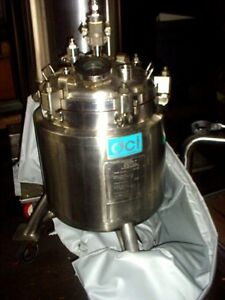 150 Liter Hastelloy C Jacketed Reactor Nutche Fv 50 Psi Single Plate Filter