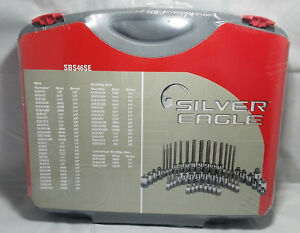 Matco Silver Eagle 46 Piece Socket Bit Driver Set With Case Sbs46se Hex Stubby