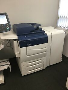Xerox Color C70 Comes W Booklet Maker Finisher And Bustle Fiery Low Meter 192k