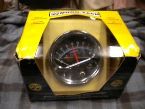 Moon Tach With Chrome Cup For 4 6 Or 8 Cylinder Engines Mpg 5000t