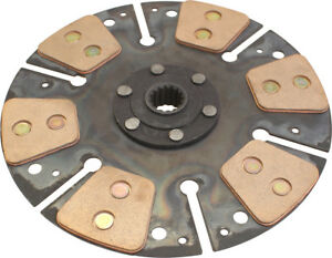 Ar66924hd Clutch Disc Heavy Duty 6 Pad For John Deere 300 301 840 Tractors