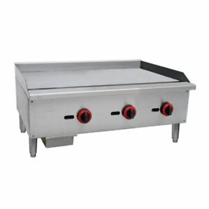 Commercial Kitchen Countertop Gas Griddle 36 90 000 Btu 3 4 Plate