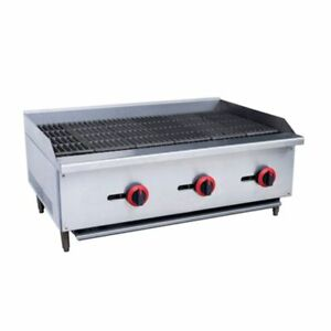 Commercial Kitchen Gas Char broiler Radiant 36