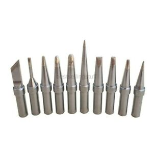 Quality Replacement Tip Set 10 Pcs For Weller Wesd51 Wes51 Pes51 Et Tip Series