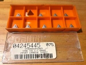 Import Ceramic Inserts Tpmr 731 C 7 Gr 04245445 075 Qty 10 New