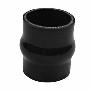 2 25 Hump Silicone Hose Coupler Turbo Charger Intercooler 57mm Black