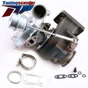 V Band T3 T4 T04e Hybird Turb0charger Turbo For Honda Civic 1999 2000 Si B16a1