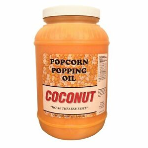 Paragon Coconut Popcorn Popping Oil gallon 1 Pack