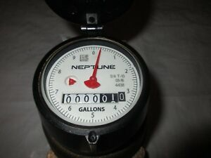 Neptune Potable Water Meter T10 Nsf61 With Straight Couplings