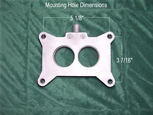 Ford 289 Falcon Fairlane Mustang Autolite 2100 C4ae 9a589 d Carburetor Spacer
