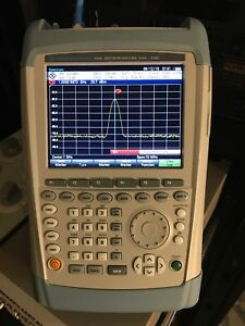 Rohde And Schwarz Fsh8 08 R s Fsh8 Spectrumanalyzer 8ghz preamp Tested