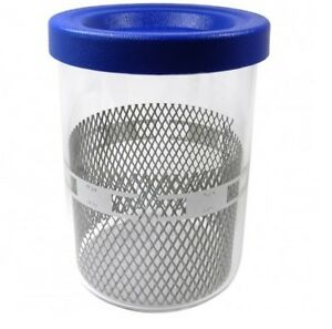 Glass Jar Complete For Elma Solvex Watch Cleaning Machine Se Rm Hcrm12