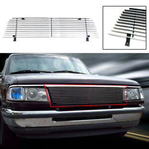 Horizontal Billet Main Upper Grill For Ford Ranger 1993 1997 Not For 4wd