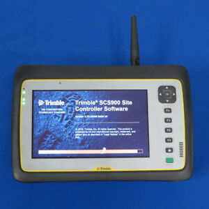 Trimble Yuma Ii W Access And Scs900 W 2 4 Ghz Radio Tablet Pc Data Collector
