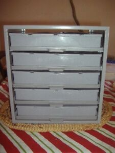 Hillman Hardware Storage Cabinet 5 Drawer Steel Organizer new Storage Boxes