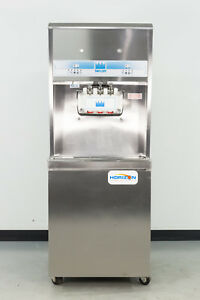 Used Taylor 8756 33 3 Head Soft Serve Ice Cream Machine