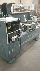 Clausing Metosa C1440s Manual Lathe With Anilam Digital Readout Nice Lathe