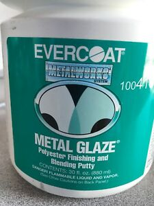 Evercoat 416 Metal Glaze Polyester Finishing And Blending Putty 30 Oz
