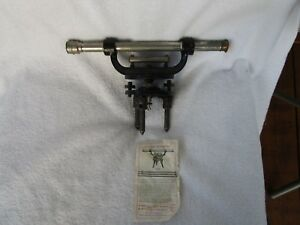 Vintage L S Starrett Co Transit No 99 And Leveling Instrument Tool
