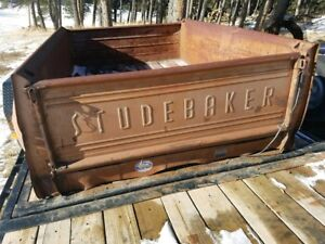 Studebaker Truck Box With Tailgate