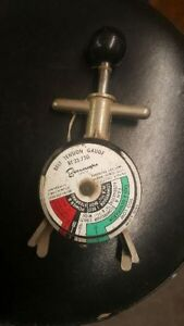 Vintage Borroughs Belt Tension Gauge