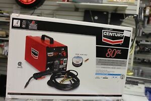 Century 80gl Flux Cored Wire Feed Electric Welder 70 Amp 115v New