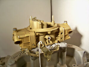 Holley 9188 780 Cfm 1965 Chev 427 Eng Plated And Rebuilt