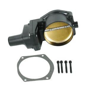 Black 102mm Boosted Drive By Wire Electronic Throttle Body For Ls2 Ls3 Ls7 Lsx