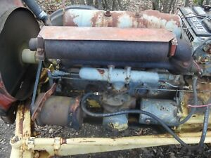 Ford 172 Gas Engine 800 4000 Tractor 4 Cylinder Motor